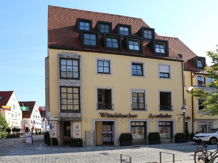 Außenansicht Wittelsbacher Apotheke
