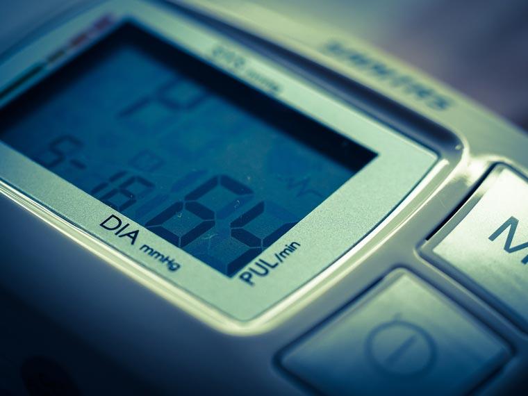 Blutwerte und Blutdruckmessung