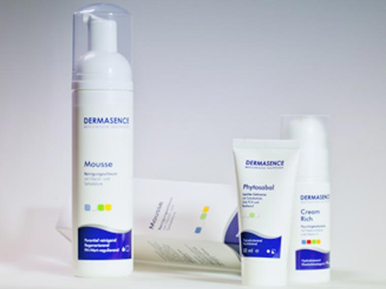 Dermasence Hautpflege in der Wittelsbacher Apotheke