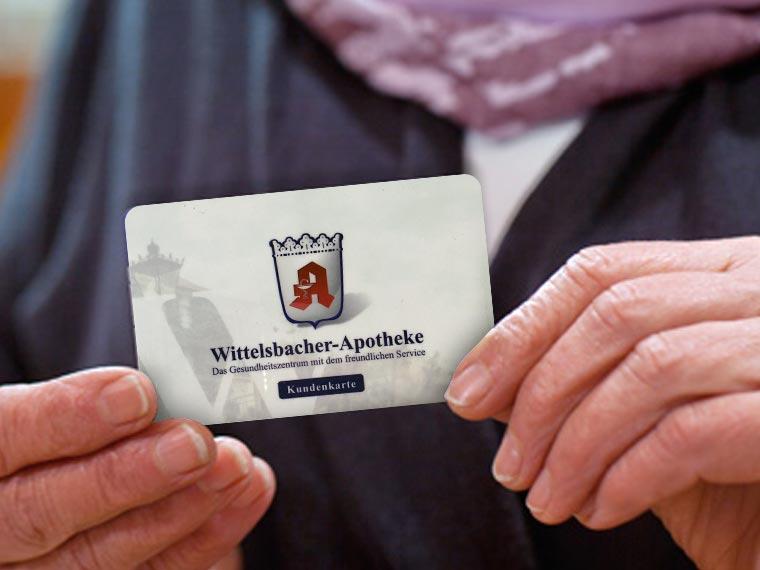 Kundenkarte – Vorteile bei der Wittelsbacher Apotheke