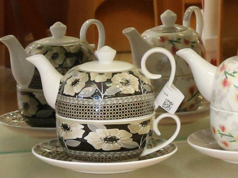 Tee-Services in der Wittelsbacher Apotheke